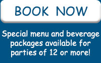 Book NOW - Grroup event menus and pricing!
